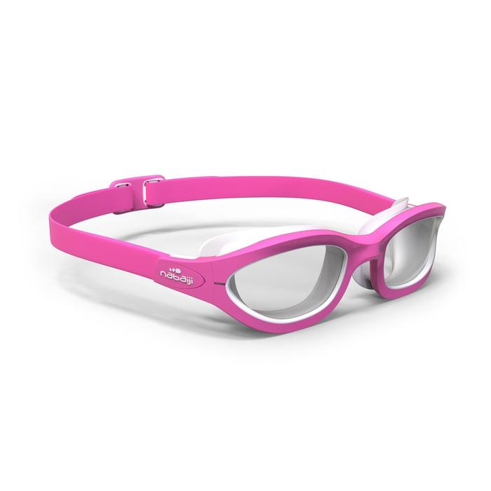 Schwimmbrille Kinder 100 Easydow S rosa