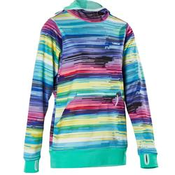 SWEAT DE SKI FEMME MID WARM 700 MULTICOLOR