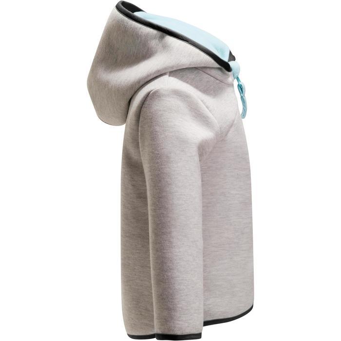 Veste chaude zippée capuche Gym baby - 1246318