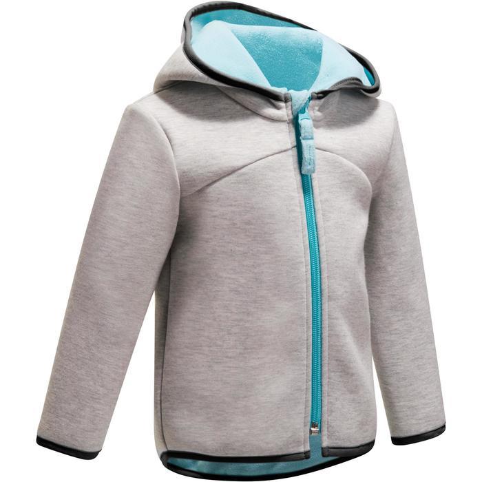 Veste chaude zippée capuche Gym baby - 1246321