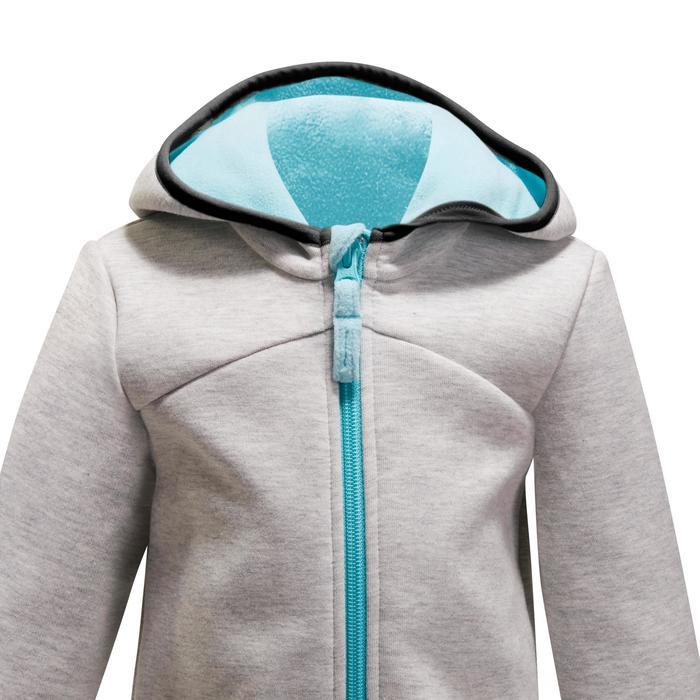 Veste chaude zippée capuche Gym baby - 1246322