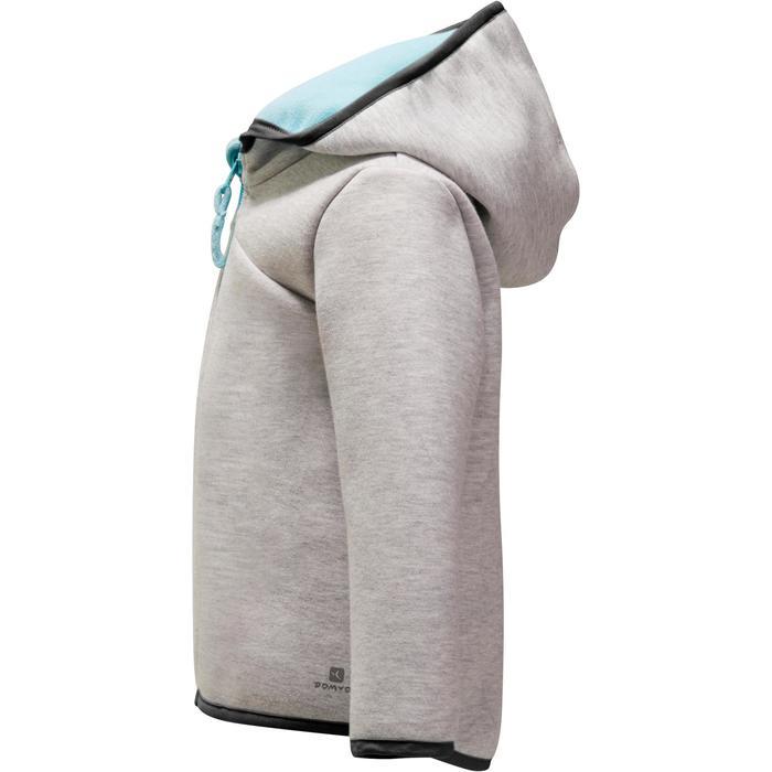 Veste chaude zippée capuche Gym baby - 1246327