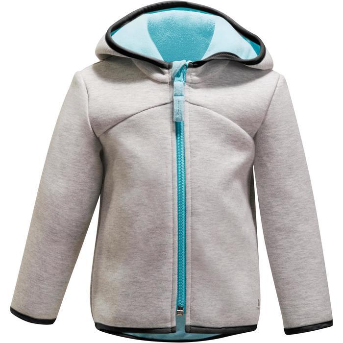 Veste chaude zippée capuche Gym baby - 1246328