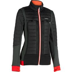 MID WARM 900 WOMEN'S SKI LINER JACKET - BLACK