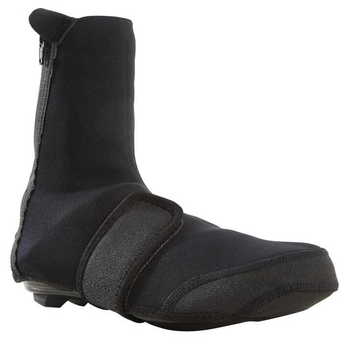 Fietsoverschoenen 100 zwart