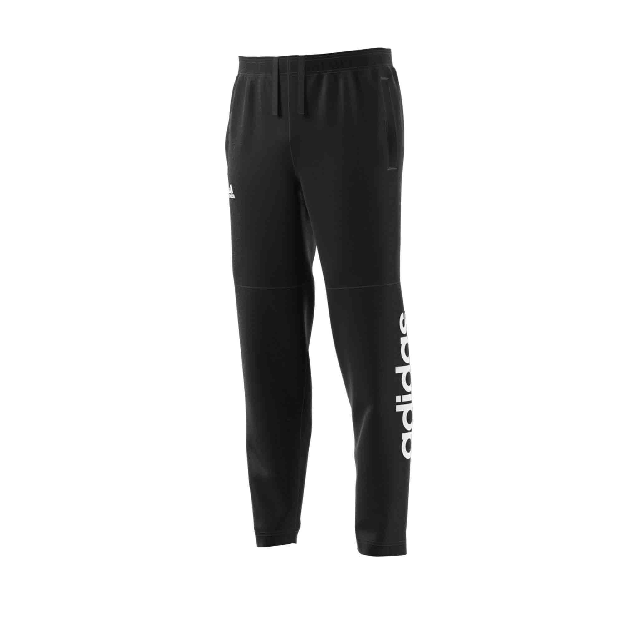 Adidas Gymbroek voor heren Adidas zwart