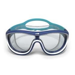 100 SWIMDOW ASIA Swim Mask, Size L - Blue White