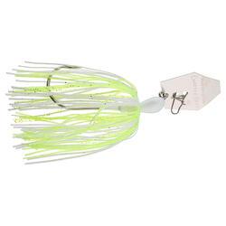 Kunstaas voor roofvissen Chatterbait ZMan Original 14 g wit chartreuse