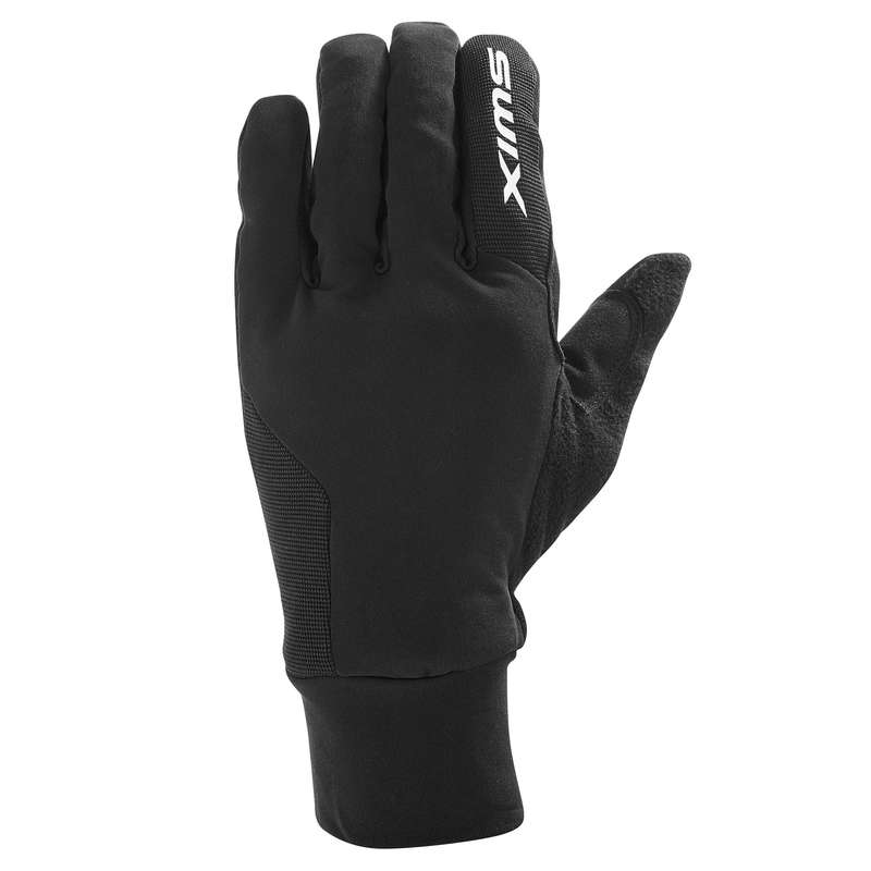 ADULT CROSS COUNTRY CLOTHING Cross-Country Skiing - XC S Lynx Men's Gloves - Black SWIX - Cross-Country Skiing