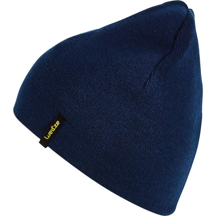 Skimuts volwassenen Reverse geel/blauw