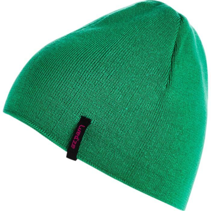 Omkeerbare skimuts groen roze