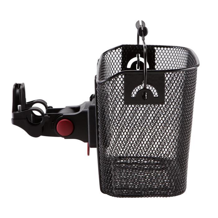 Fahrradkorb 500 Easy Fix Kinder für Lenker schwarz
