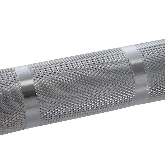 Barre d'haltérophilie de 20 kg, manchon de diamètre 50 mm, prise de main 28 mm