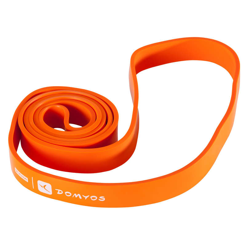 Cross Training súlyok Fitnesz - Gumipánt edzéshez, 35 kg  DOMYOS - Fitnesz
