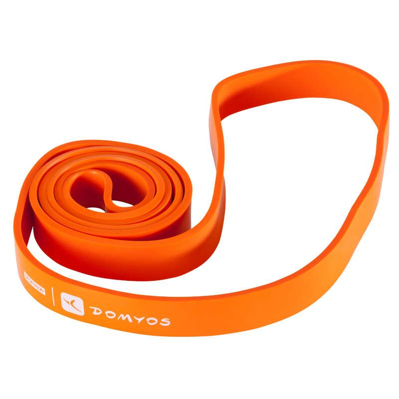 ACCESORII ȘI ECHIPAMENT CROSS-TRAINING Fitness Cardio, Bodybuilding, Crosstraining, Pilates - Bandă Elastică Training 35 kg DOMYOS - Crosstraining
