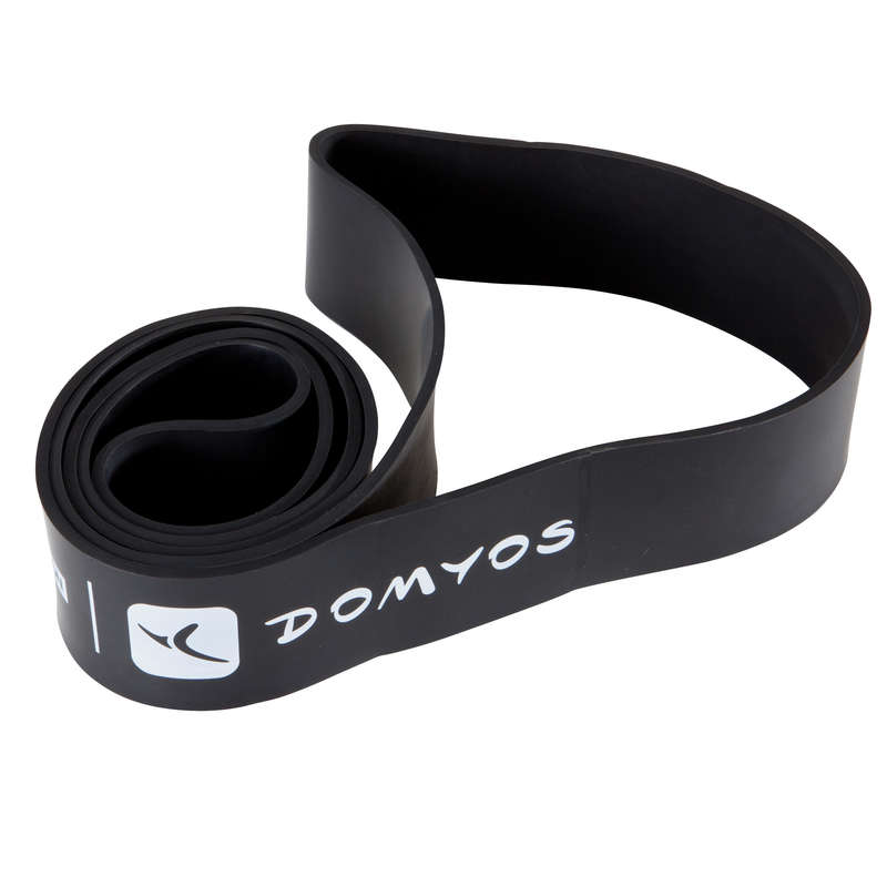 ACCESSORI E MATERIALE CROSS TRAINING Fitness - Elastico TRAINING BAND 60 KG DOMYOS - Materiale cross training