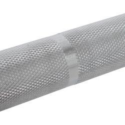 Barre d'haltérophilie de 15 kg, manchon de diamètre 50 mm, prise de main 25 mm