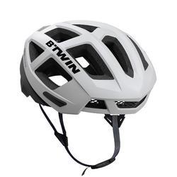 自行車安全帽Aerofit 900 - 白色/黑色