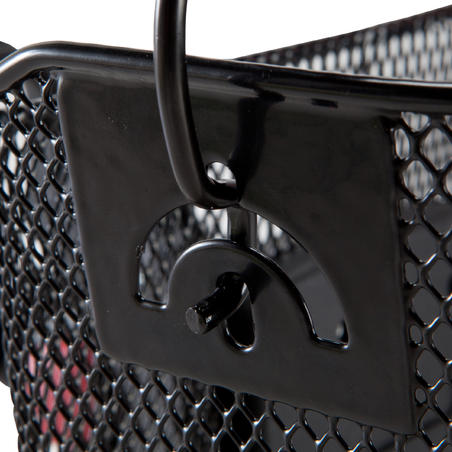 Kids' Metal Bike Basket - Black