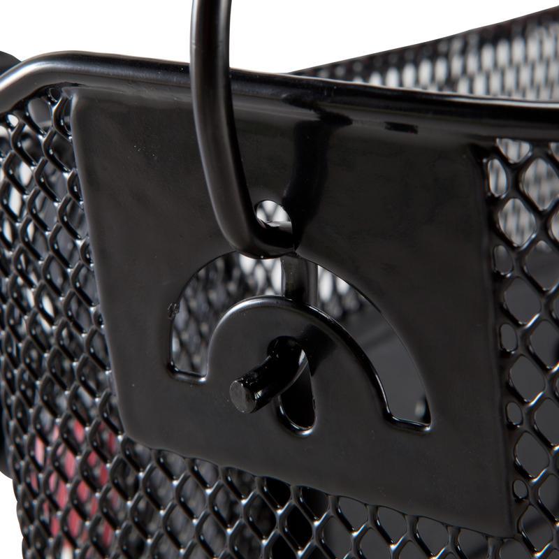 Kids' Metal Bike Basket - Black