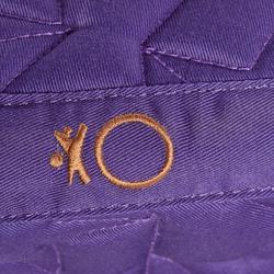 Tapis de selle équitation poney et cheval 100 STAR violet