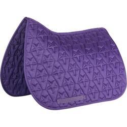 Mantilla equitación poni y caballo 100 STAR violeta
