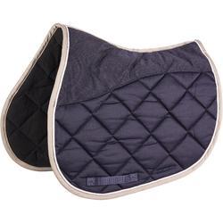 Mantilla de silla equitación caballo 540 azul marino