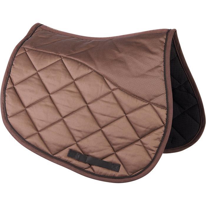 Mantilla de equitación caballo 540 marrón