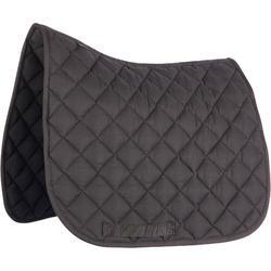 100 P Shetland Pony Horse Riding Saddle Cloth - Black
