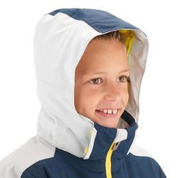 Skijacke Piste 900 Kinder blau/grau