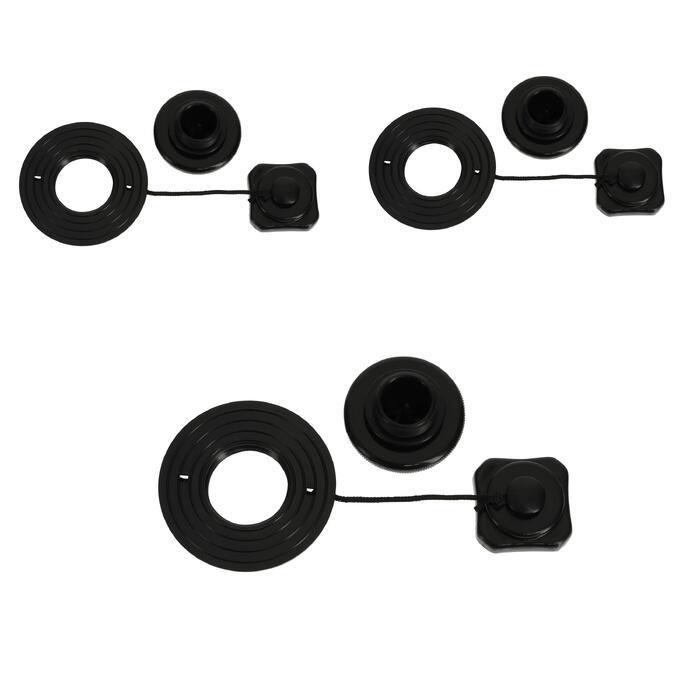 3 ventielen voor opblaaskajak - 1246975