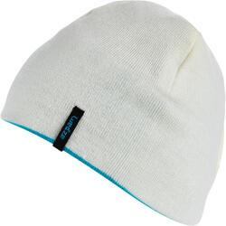 REVERSIBLE RED PURPLE SKI HAT