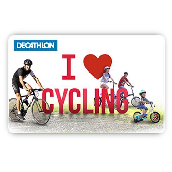 E Carte Cadeau Vélo
