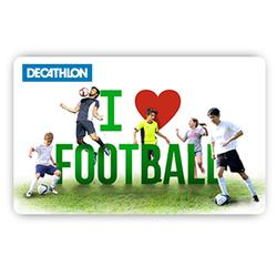 I Love Football E Gift card