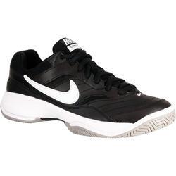 Tennisschoenen Nike Court Lite zwart