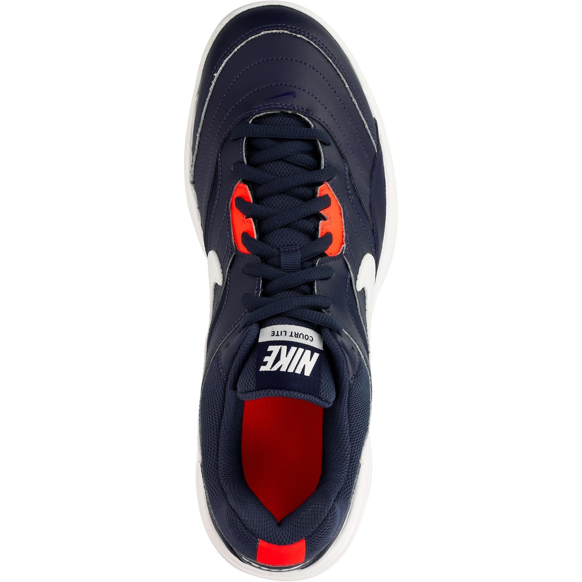 bdeda6498119 Court Terre Lite Decathlon Bleu Battue Chaussures Nike Tennis qH0qIPwFd