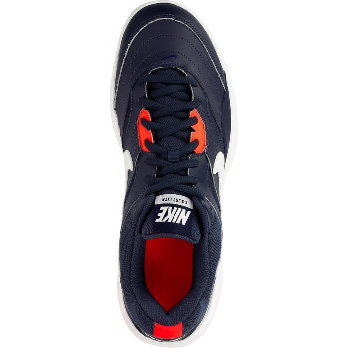 Tennisschoenen Nike Court Lite gravel blauw - 1247114