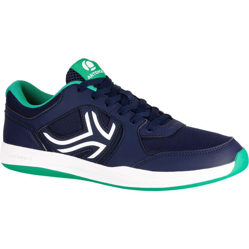 MEN BEG/INTER MULTICOURT SHOES Tennis - TS130 - Navy ARTENGO - Tennis Shoes