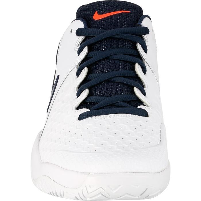 Tennisschoenen heren Zoom Resistance Thunder wit blauw roze