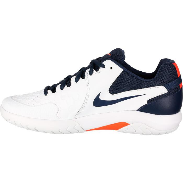Tennisschoenen heren Zoom Resistance Thunder wit blauw roze - 1247179