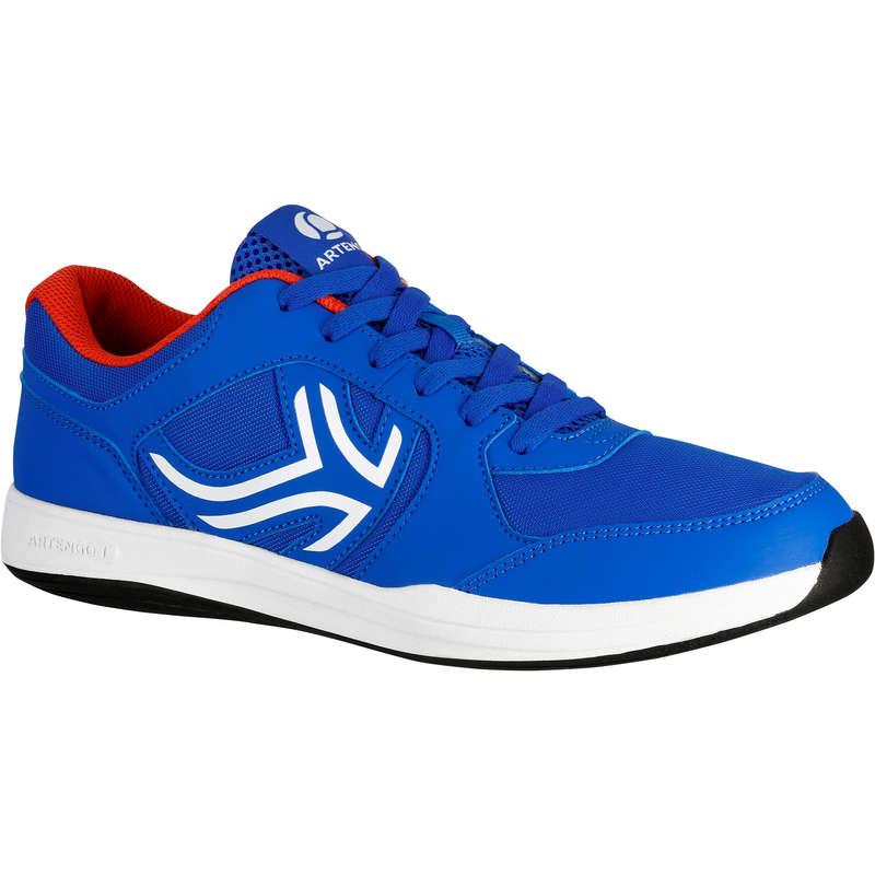 SCARPE TENNIS UOMO MULTICOURT PRINCIPIAN Sport di racchetta - Scarpe uomo TS130 azzurre ARTENGO - TENNIS