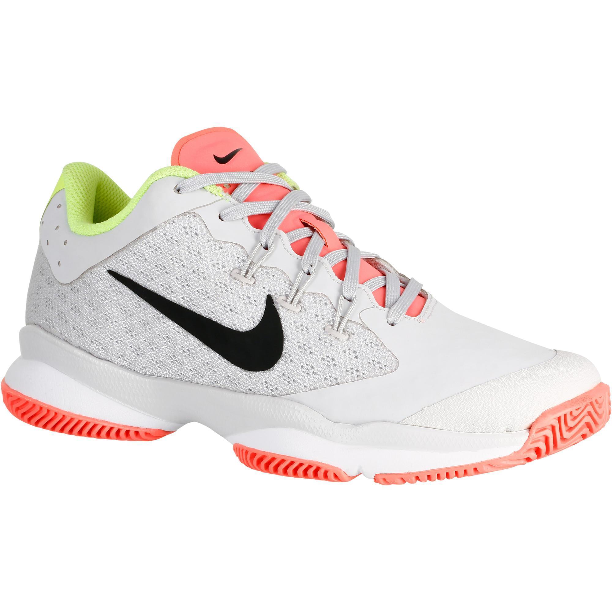 2406190 Nike Tennisschoenen dames Zoom Ultra Volt grijs