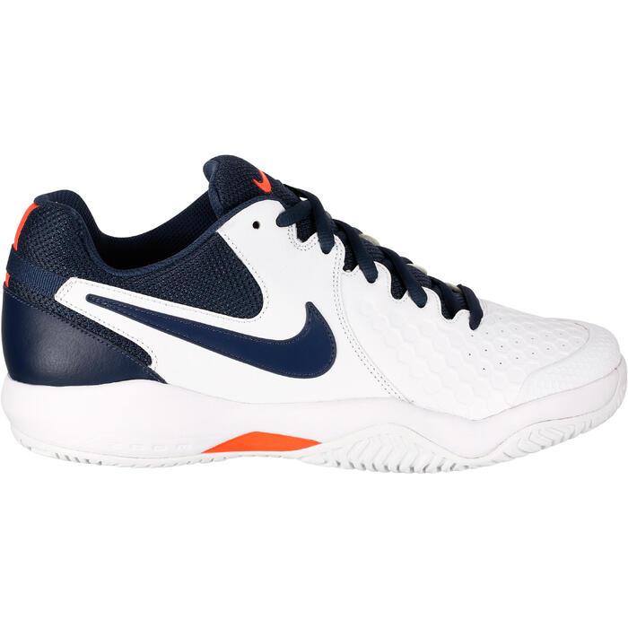 Tennisschoenen heren Zoom Resistance Thunder wit blauw roze - 1247209
