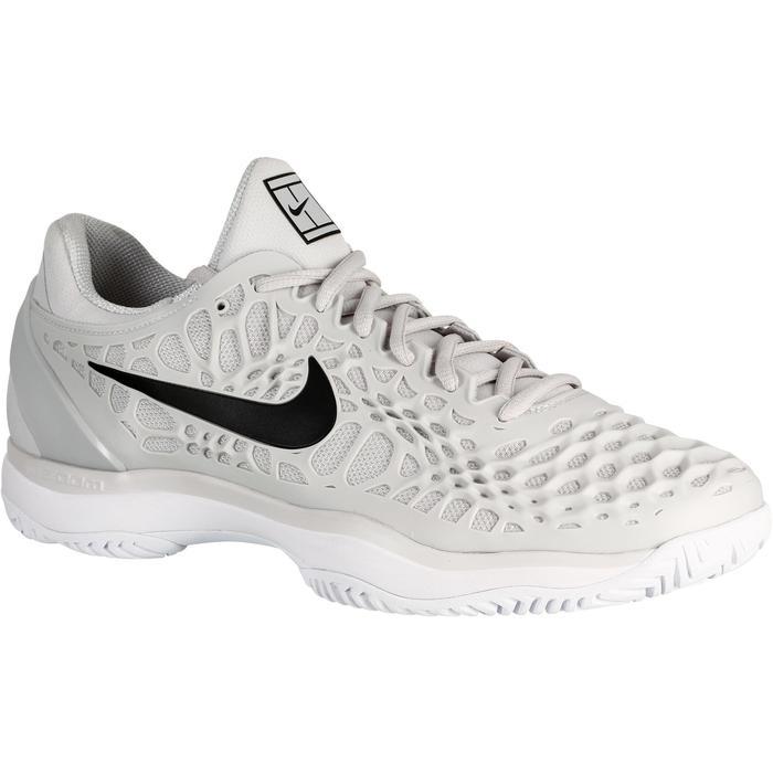 Tennisschoenen voor heren Zoom Cage 3 grijs - 1247213