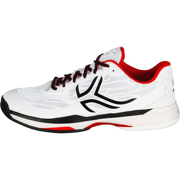 多場地適用款網球鞋TS990-白色/黑色