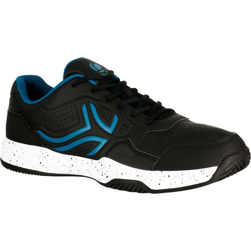 MEN BEG/INTER MULTICOURT SHOES Tennis - TS190 - Black ARTENGO - Tennis
