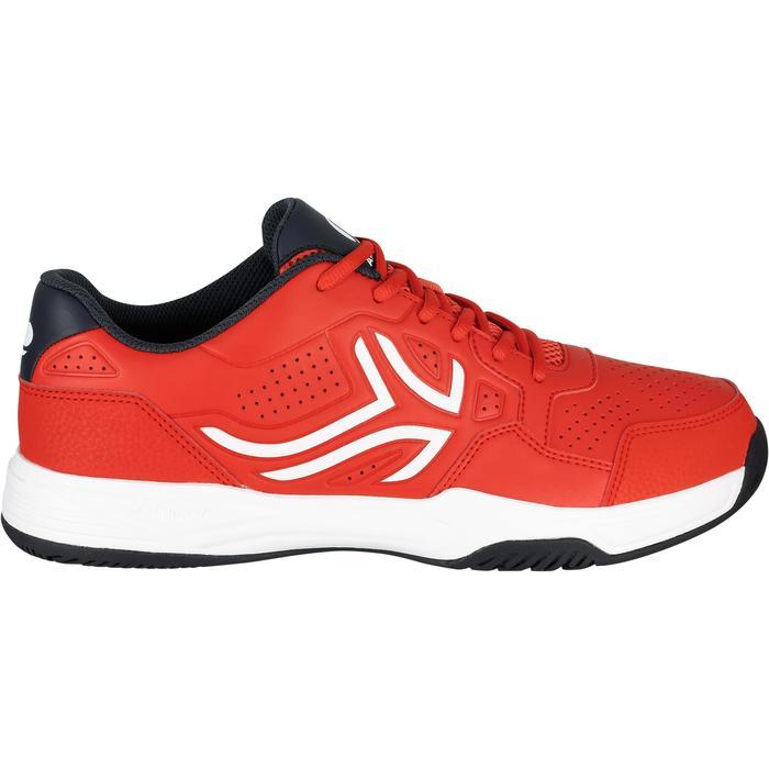 Tennisschoenen voor heren TS190 rood multicourt