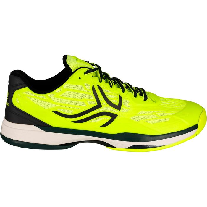 TS990 Multicourt Tennis Shoes - Neon Yellow