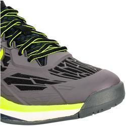 Tennisschoenen voor heren TS990 zwart geel omni zool