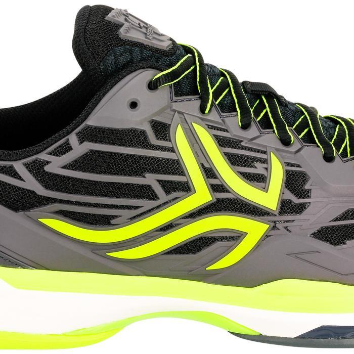 多場地適用款網球鞋TS990-黑色/黃色